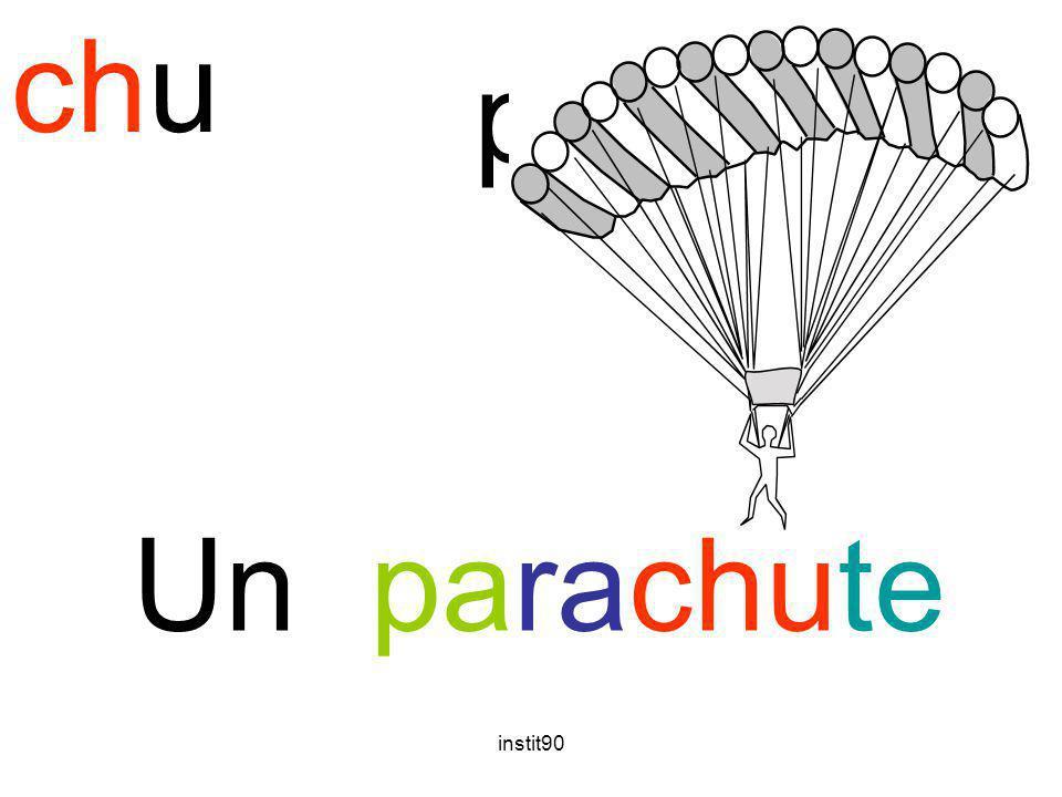 chu parachute Un parachute instit90