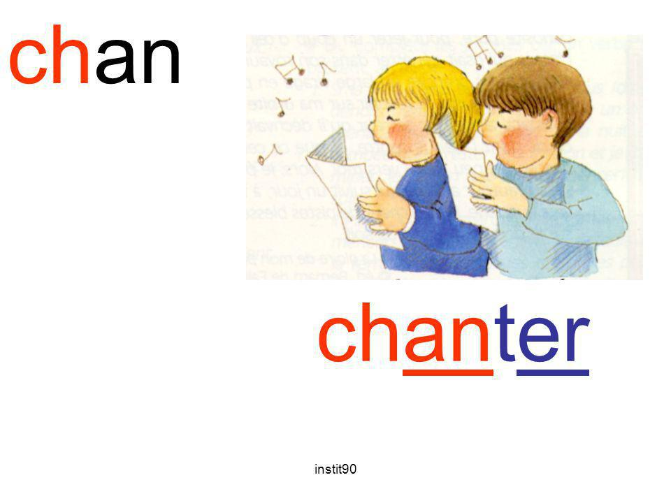 chan chanter chanter instit90