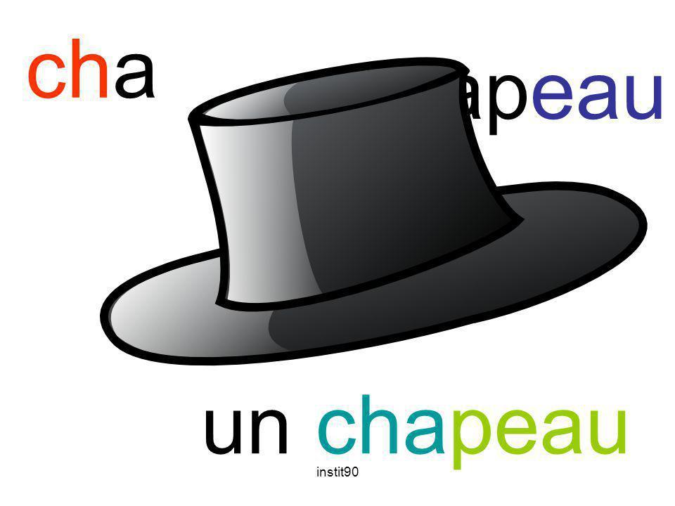 cha chapeau un chapeau instit90