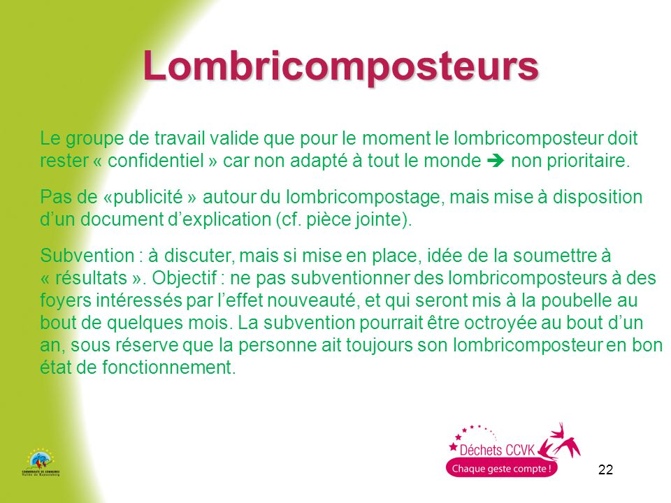 Lombricomposteurs