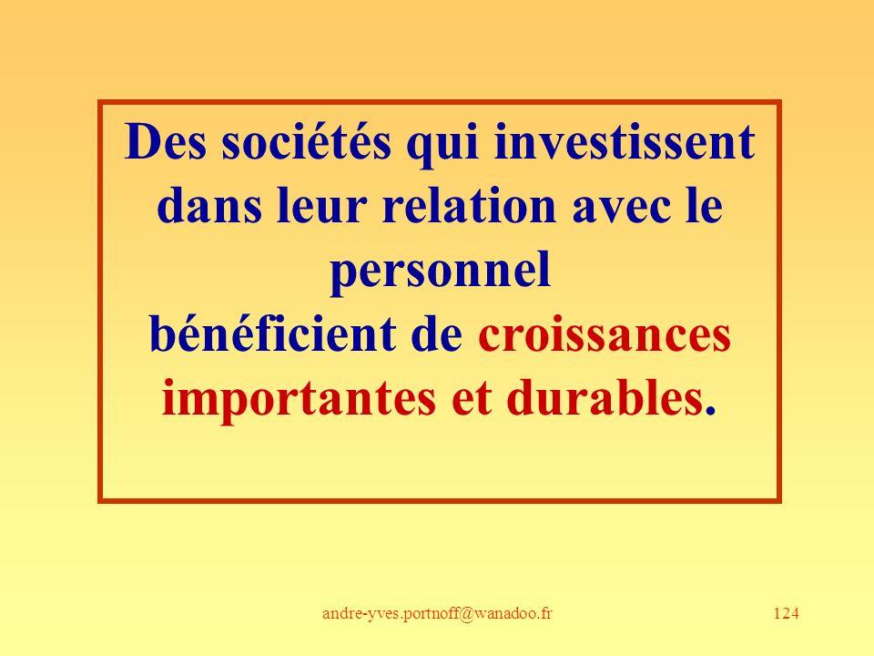 Des sociétés qui investissent dans leur relation avec le personnel
