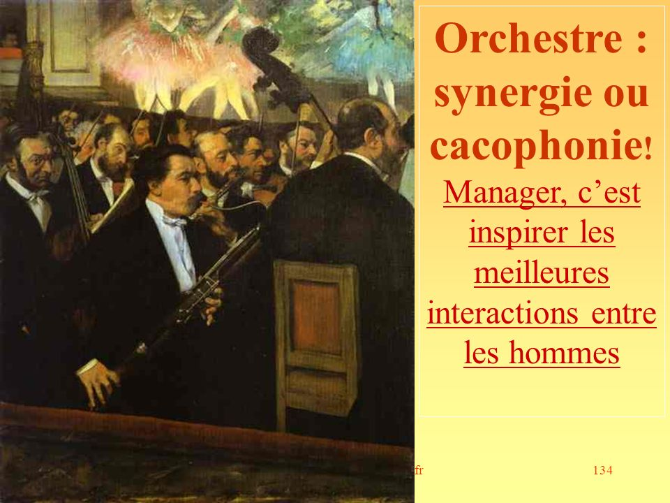 Orchestre : synergie ou cacophonie!