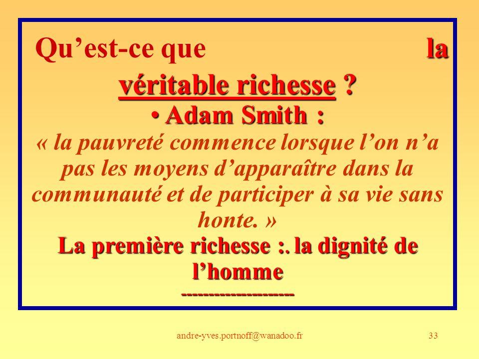 Qu'est-ce que la véritable richesse ---------------------