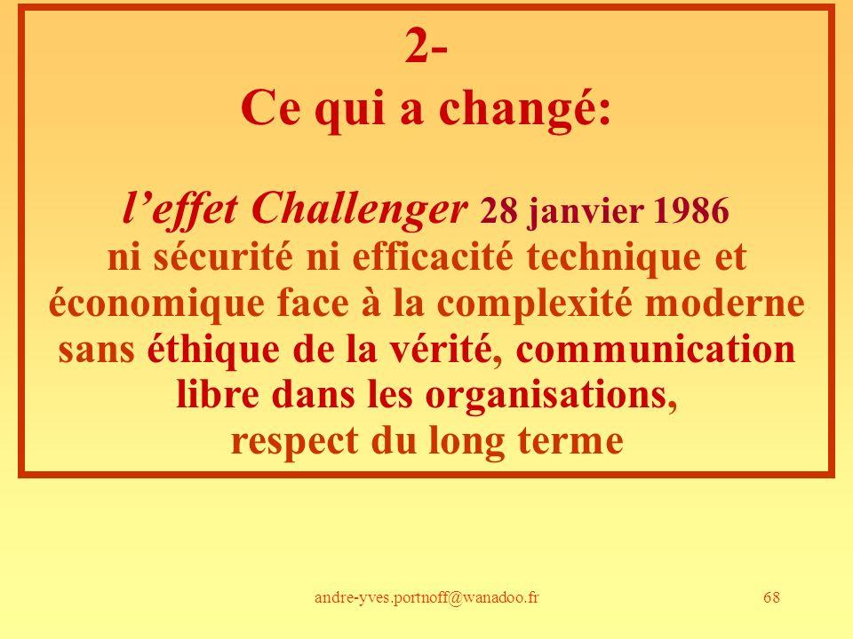 l'effet Challenger 28 janvier 1986