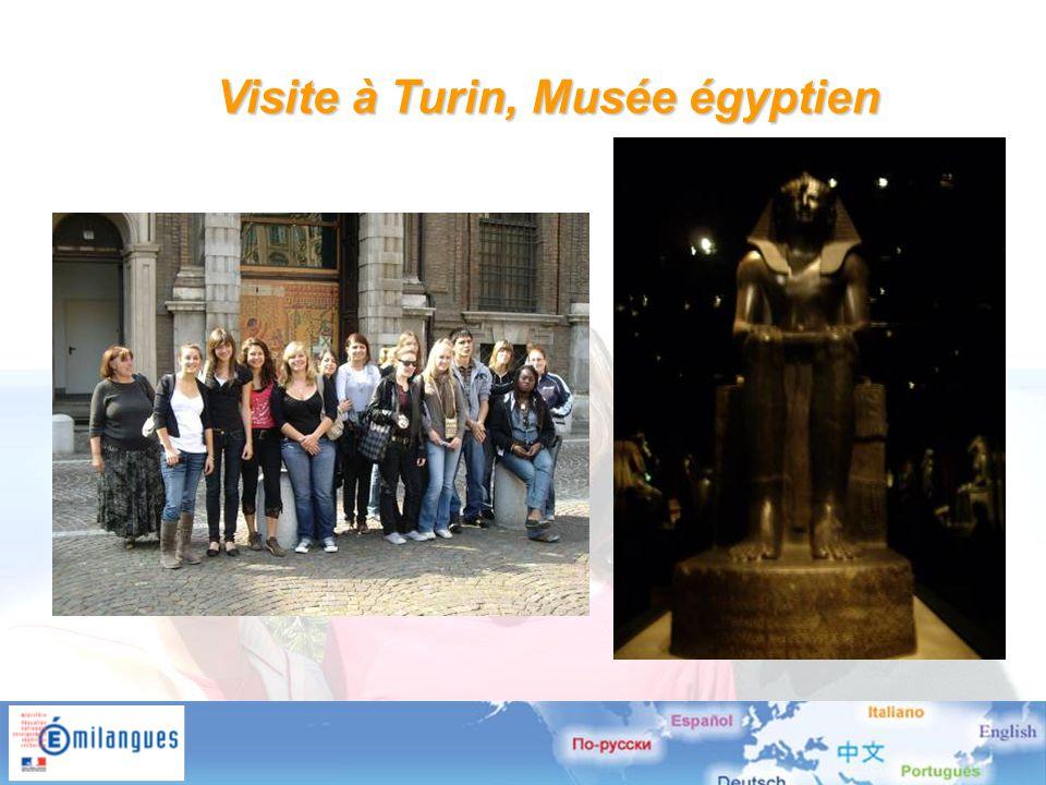 Visite à Turin, Musée égyptien