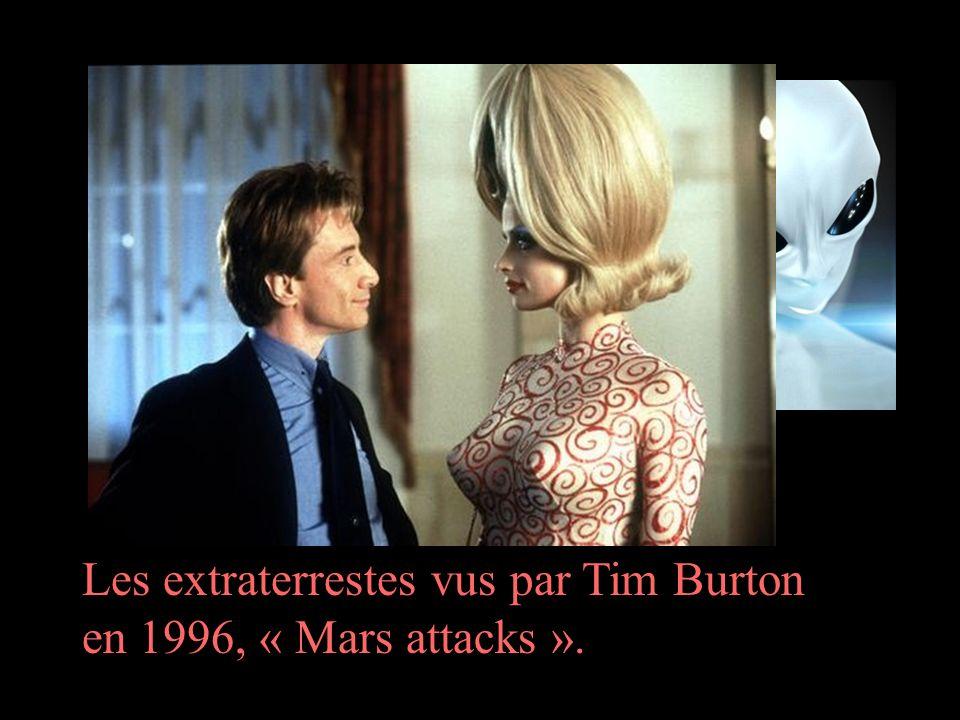 Les extraterrestes vus par Tim Burton