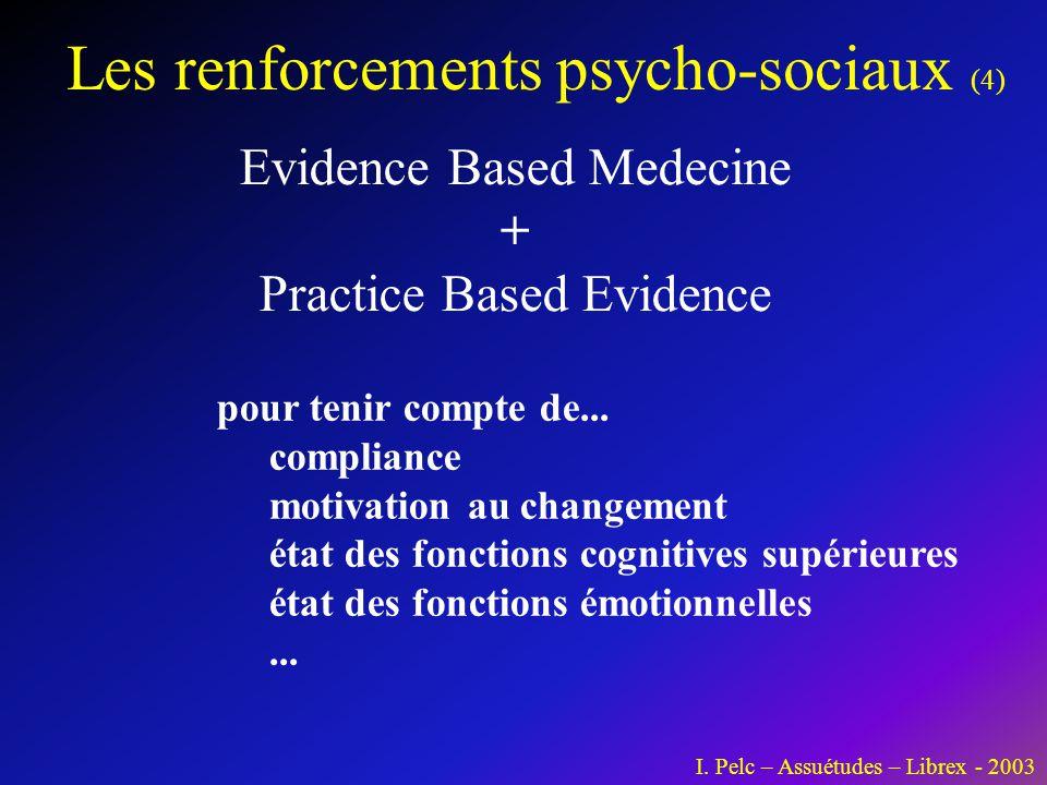 Les renforcements psycho-sociaux (4)