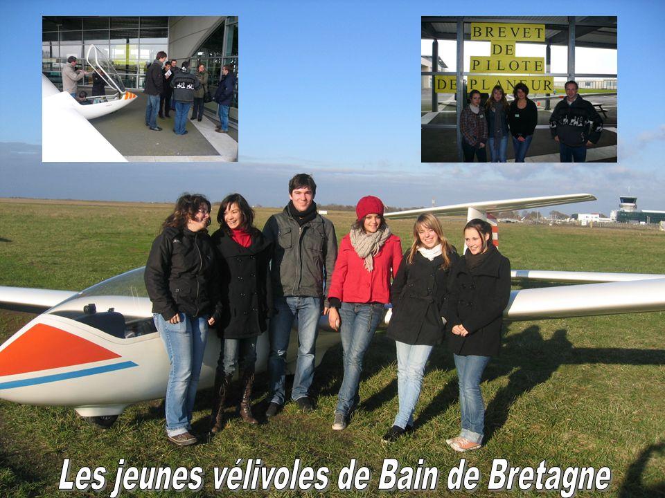 Les jeunes vélivoles de Bain de Bretagne
