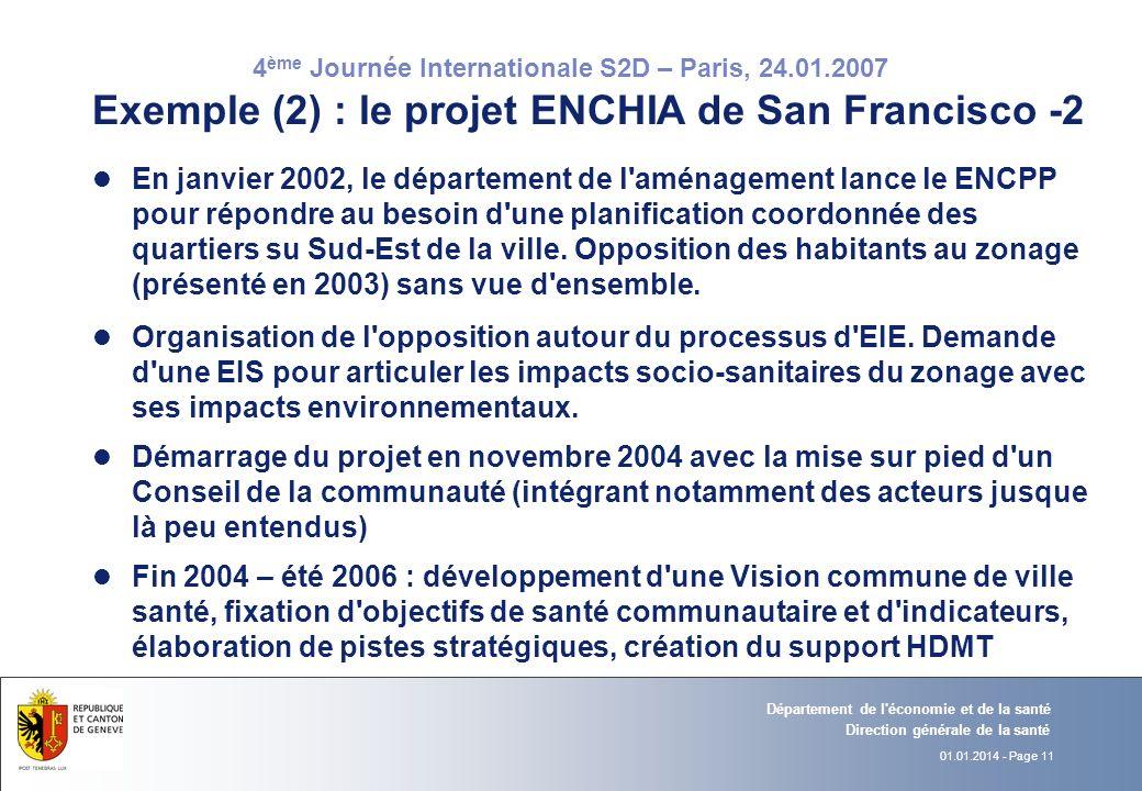 Exemple (2) : le projet ENCHIA de San Francisco -2