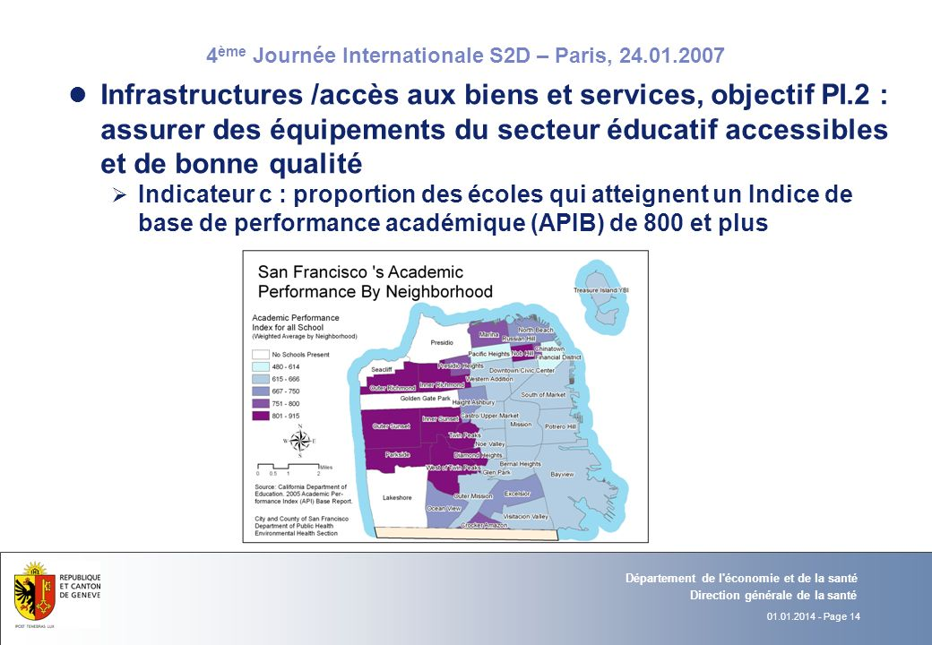 Infrastructures /accès aux biens et services, objectif PI