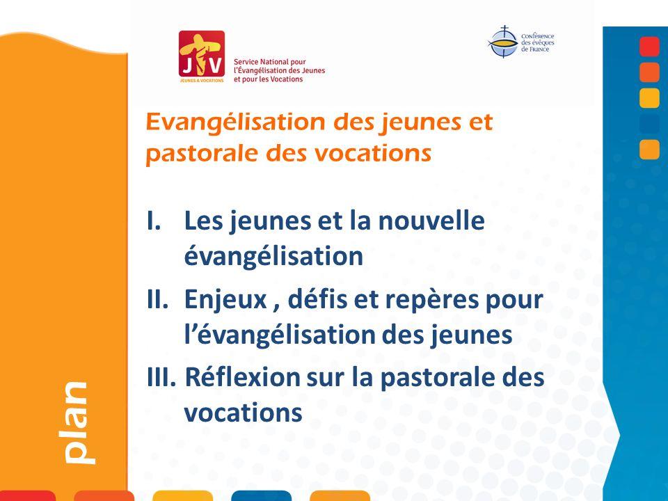 Evangélisation des jeunes et pastorale des vocations