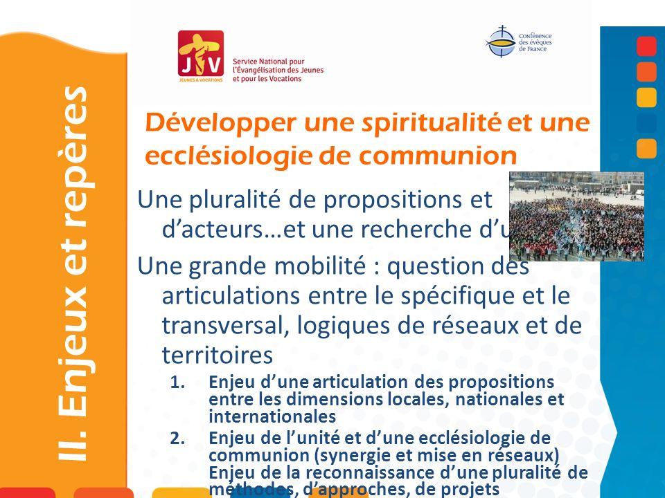 Développer une spiritualité et une ecclésiologie de communion