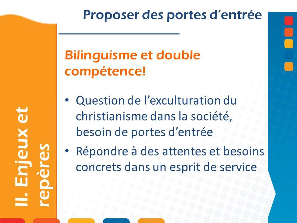 Bilinguisme et double compétence!