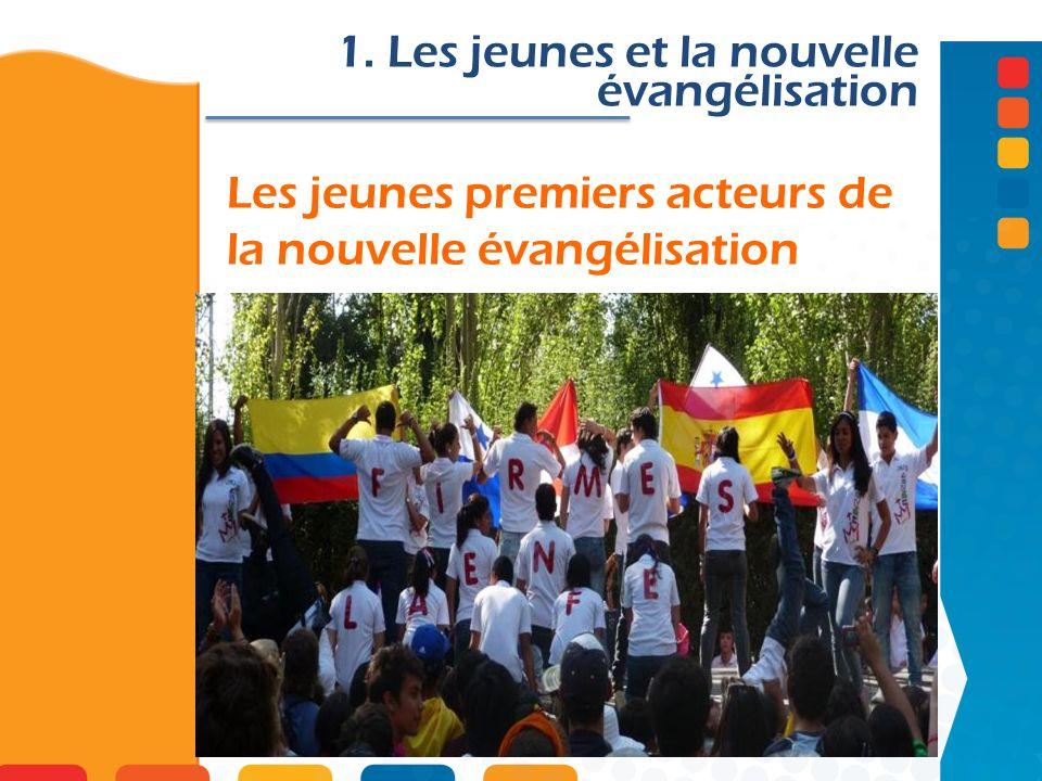 Les jeunes premiers acteurs de la nouvelle évangélisation