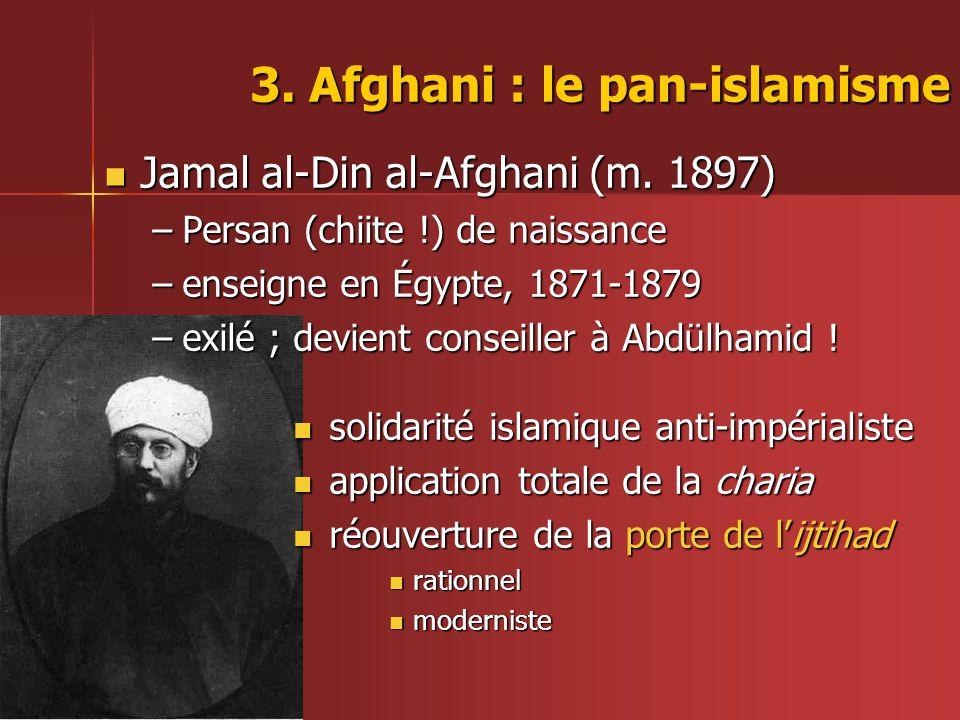 3. Afghani : le pan-islamisme