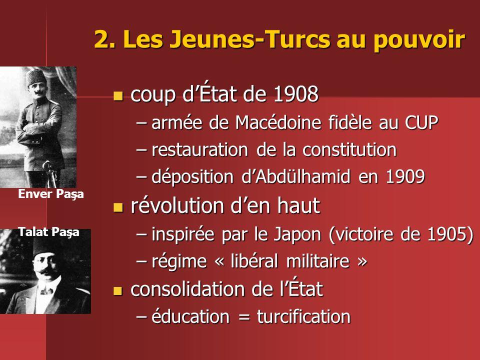 2. Les Jeunes-Turcs au pouvoir