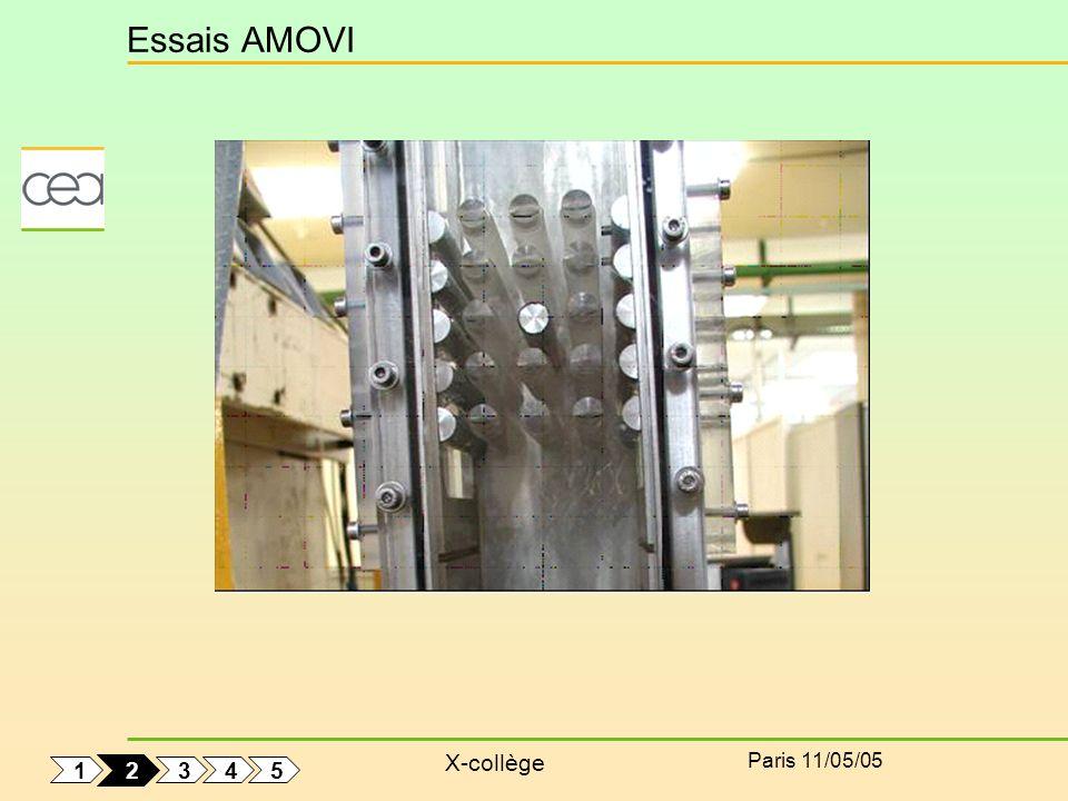 Essais AMOVI Paris 11/05/05 1 2 3 4 5