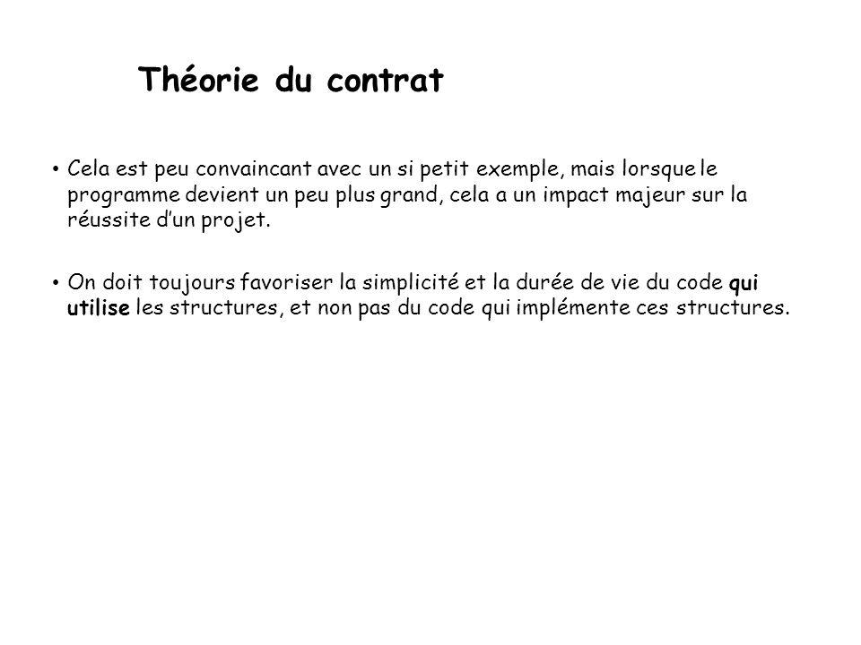 02/04/2017 Théorie du contrat.