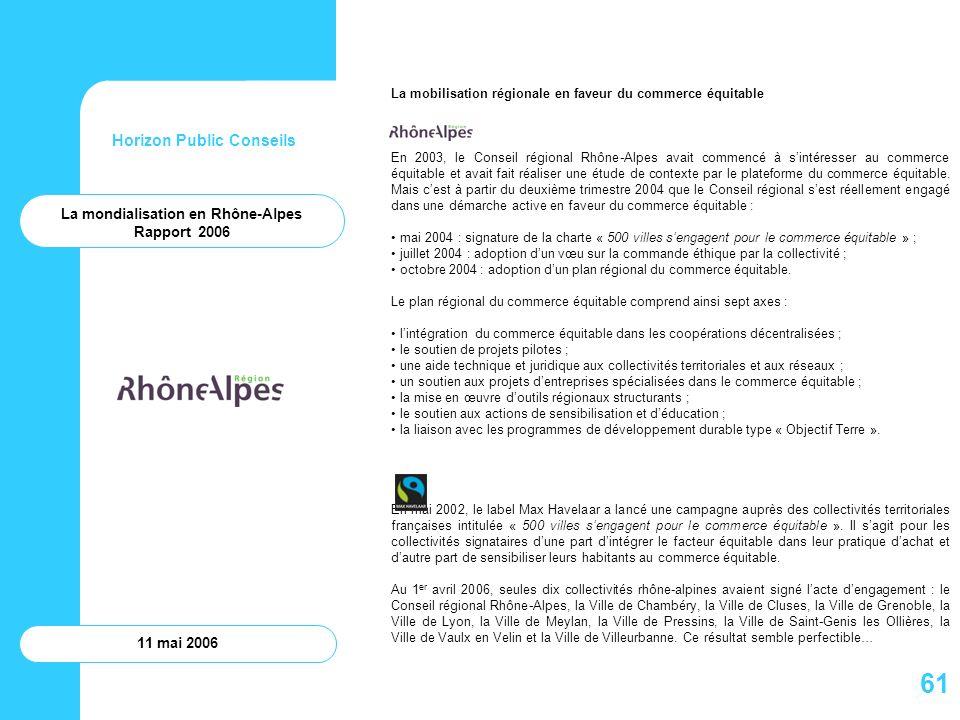 La mondialisation en Rhône-Alpes