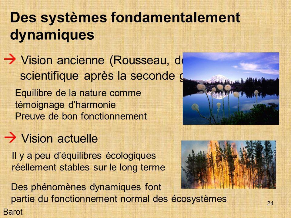 Des systèmes fondamentalement dynamiques