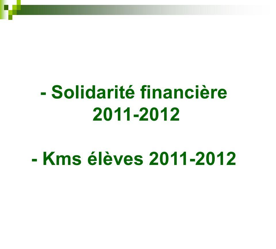 - Solidarité financière
