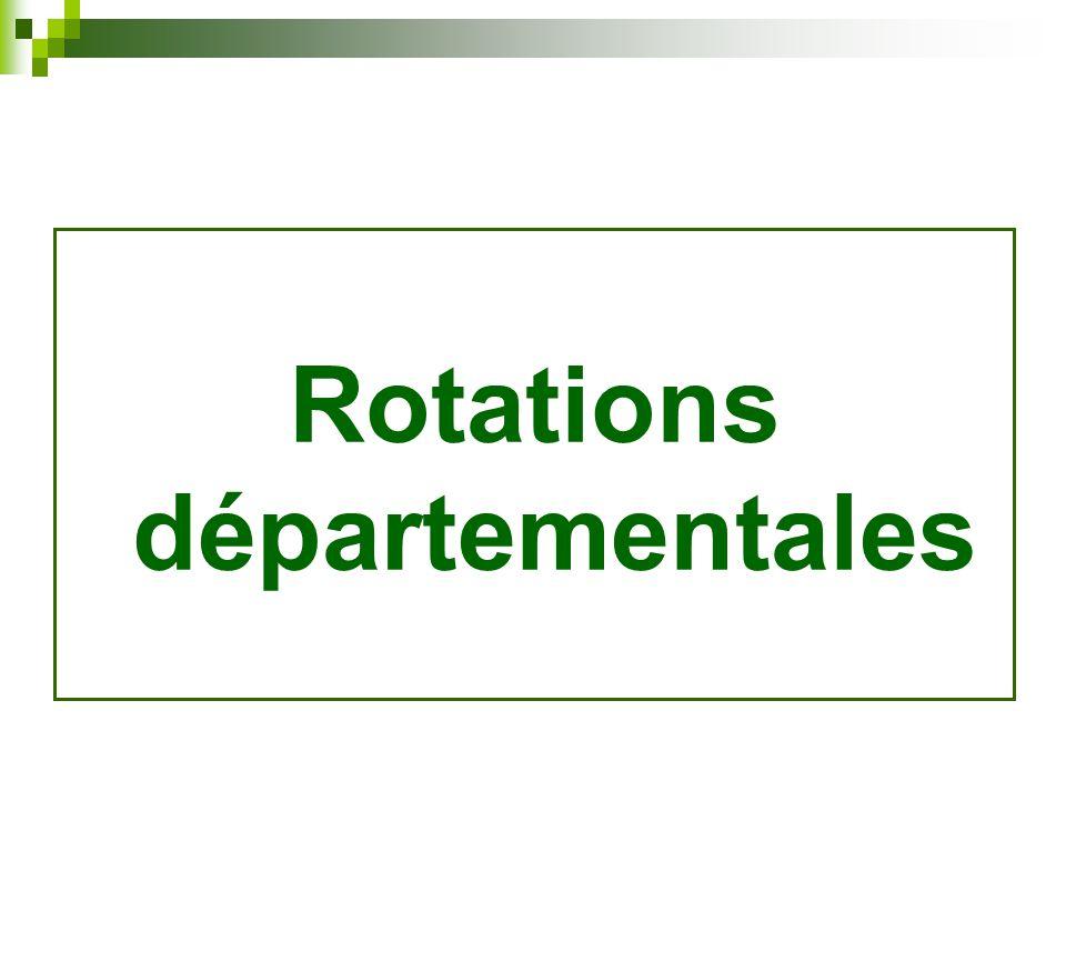 Rotations départementales