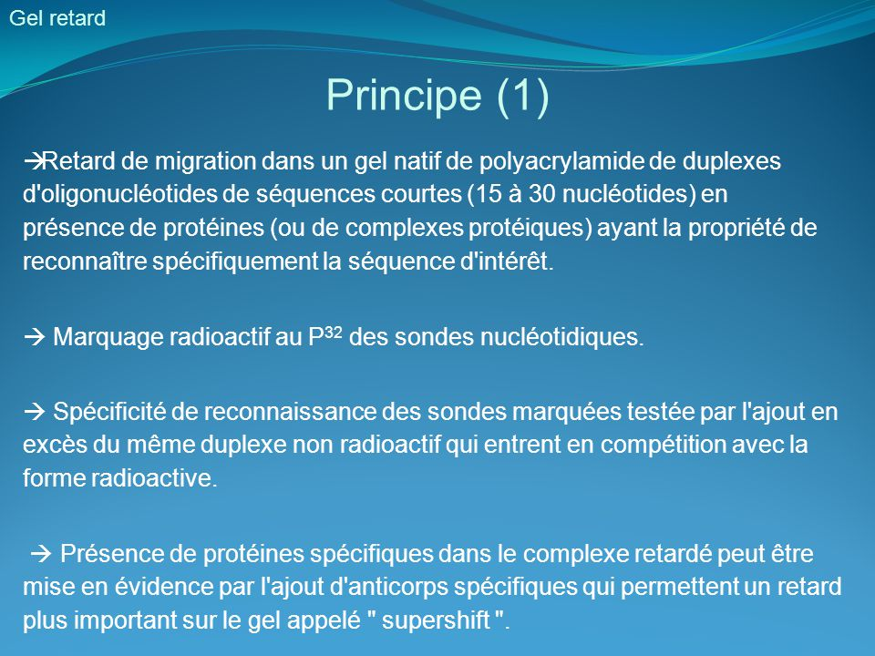 Gel retard Principe (1)