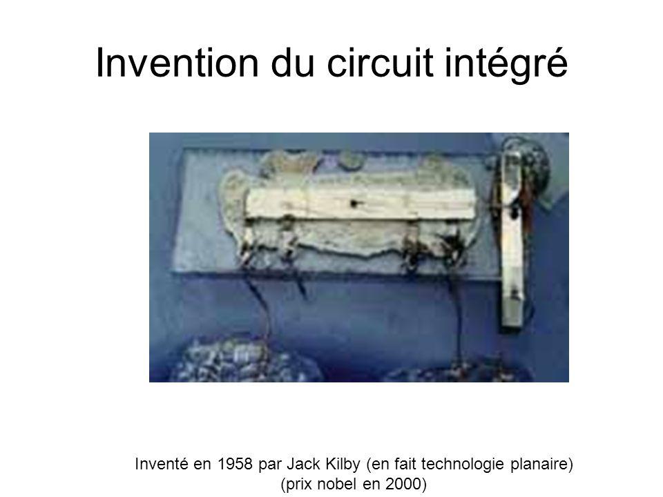 Invention du circuit intégré