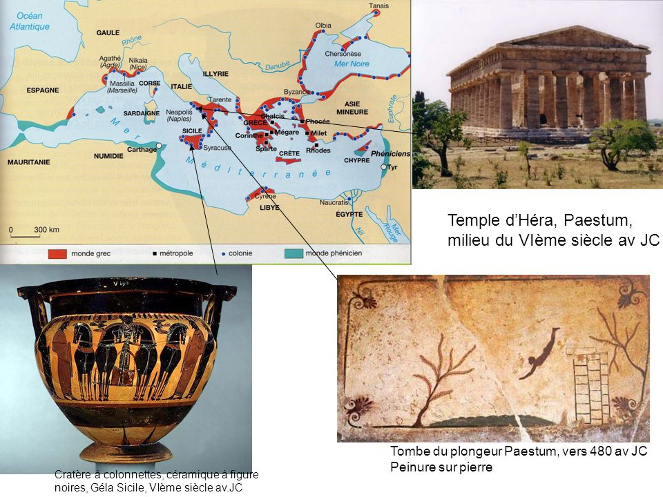 milieu du VIème siècle av JC