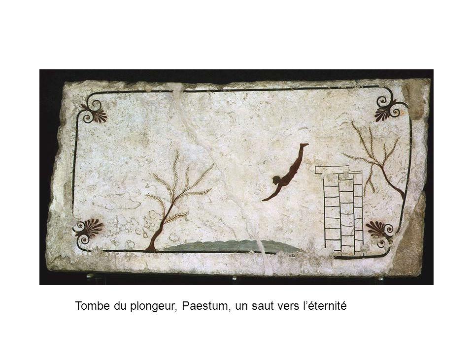 Tombe du plongeur, Paestum, un saut vers l'éternité