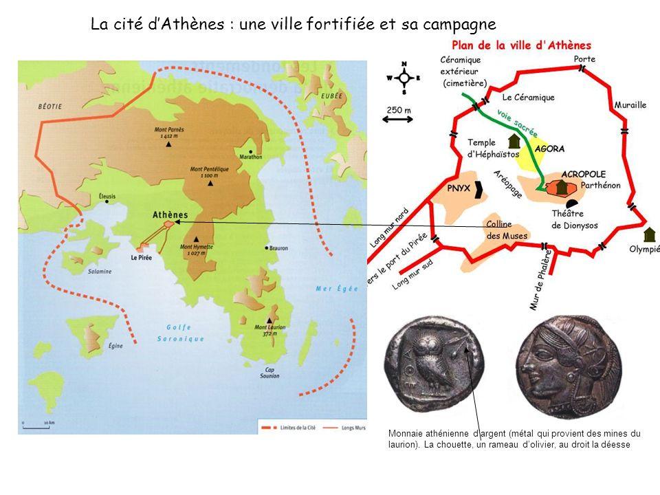 La cité d'Athènes : une ville fortifiée et sa campagne