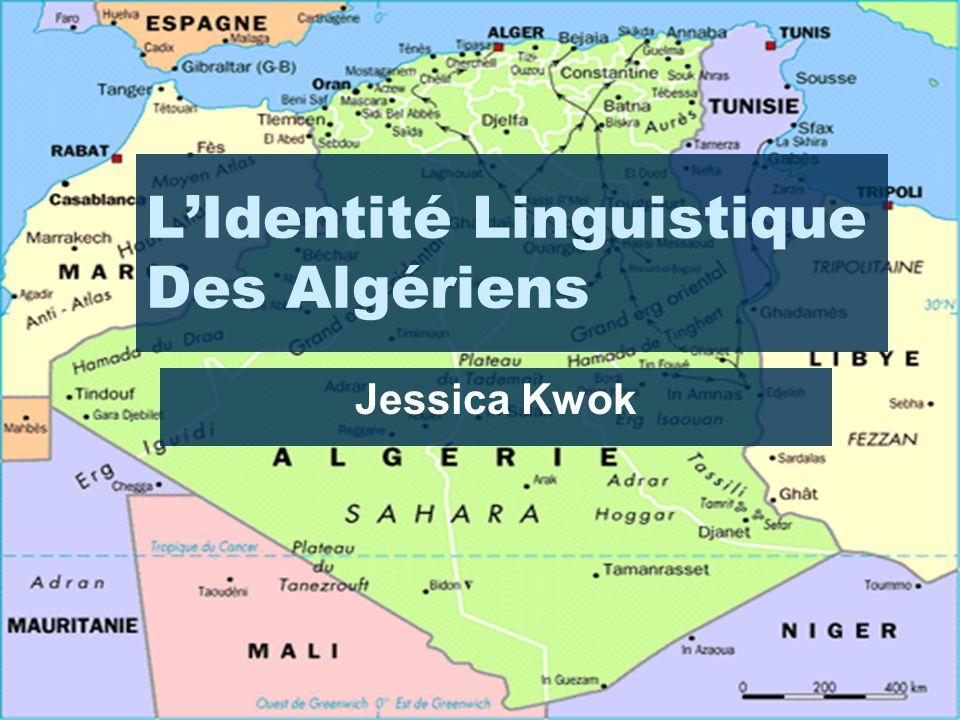 L'Identité Linguistique Des Algériens