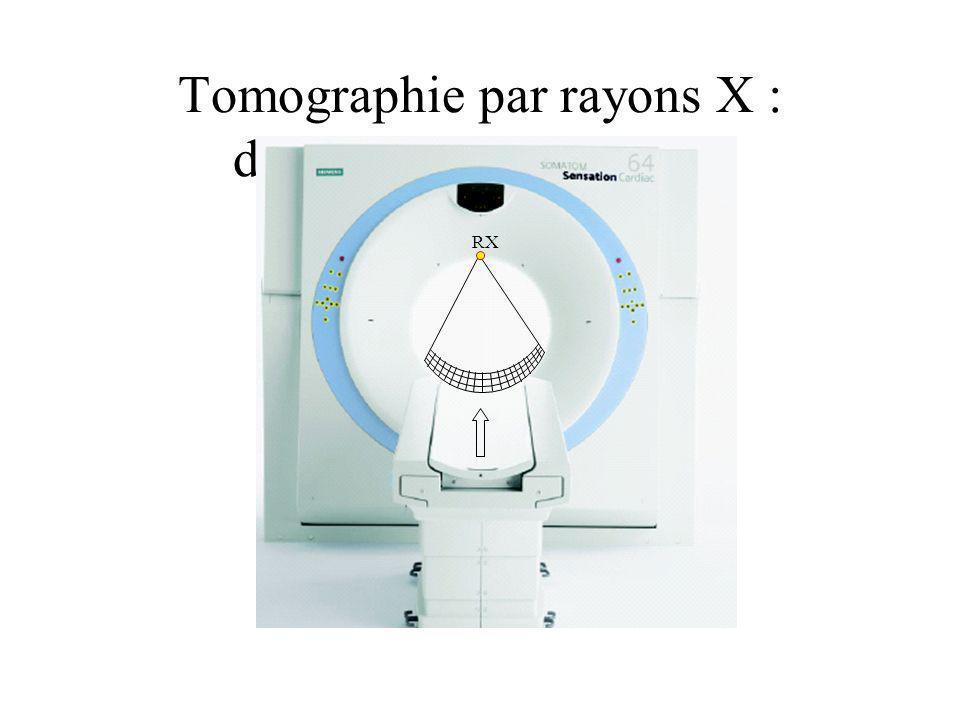 Tomographie par rayons X : dispositif d'acquisition