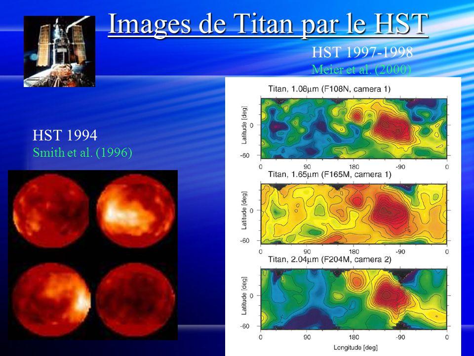 Images de Titan par le HST