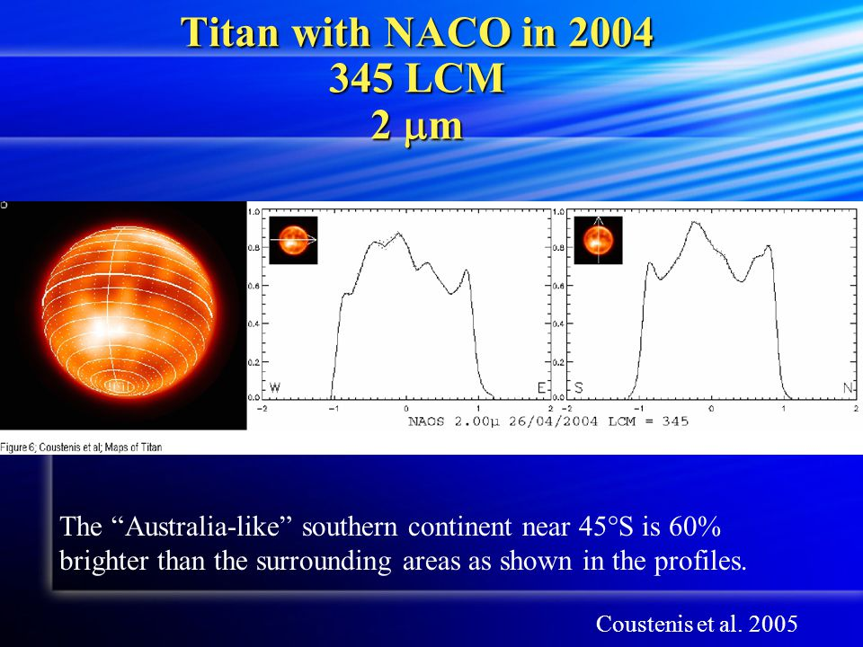 Titan with NACO in 2004 345 LCM 2 mm