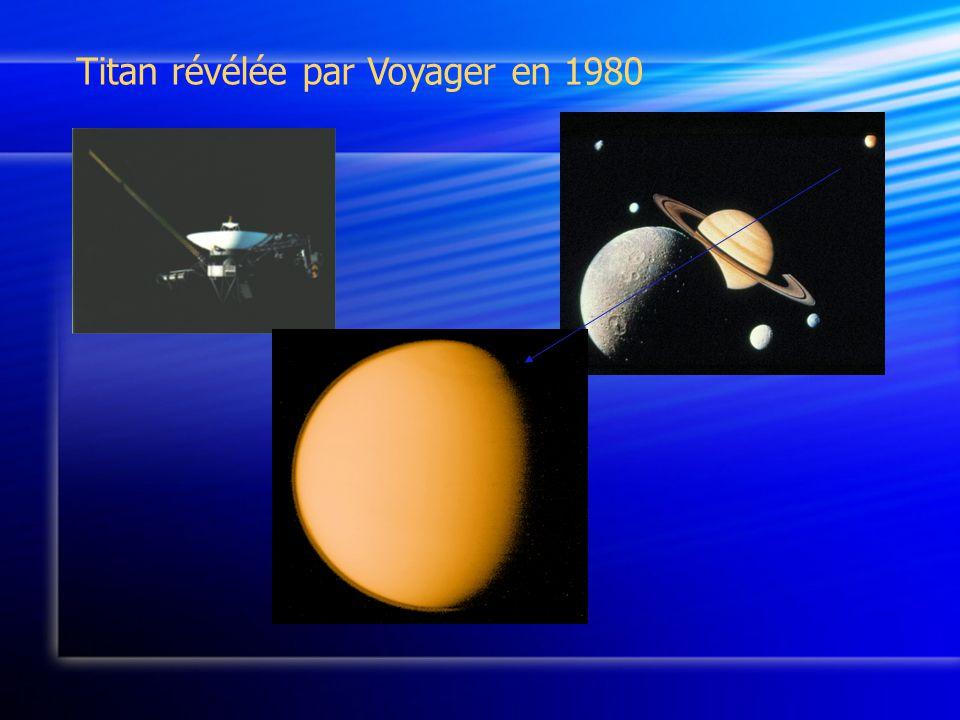 Titan révélée par Voyager en 1980
