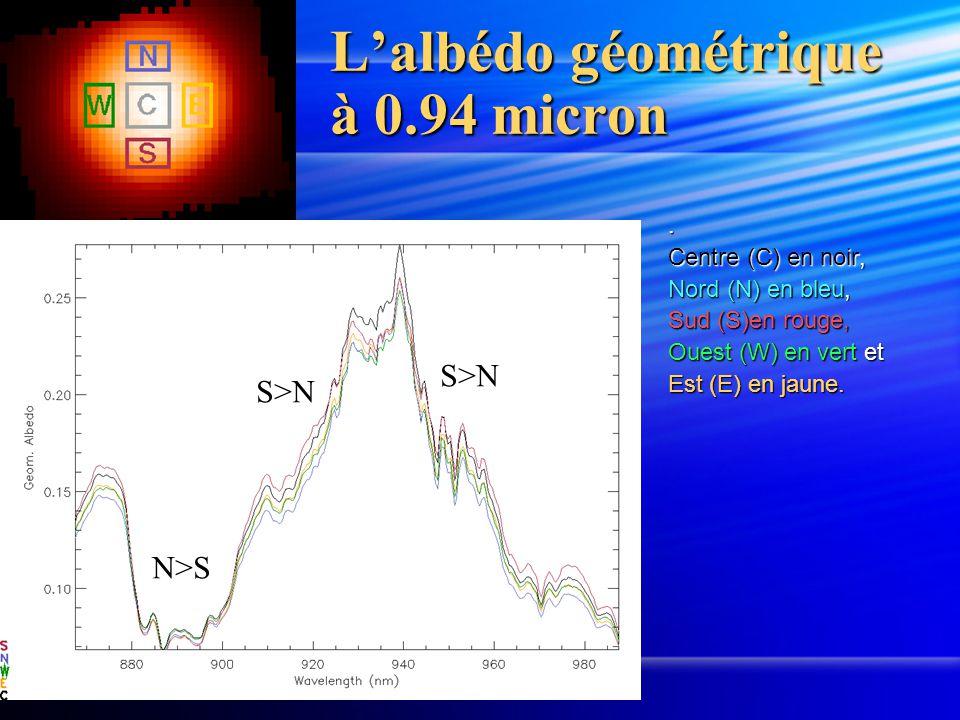 L'albédo géométrique à 0.94 micron