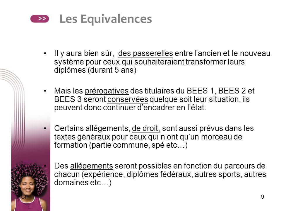 Les Equivalences >>