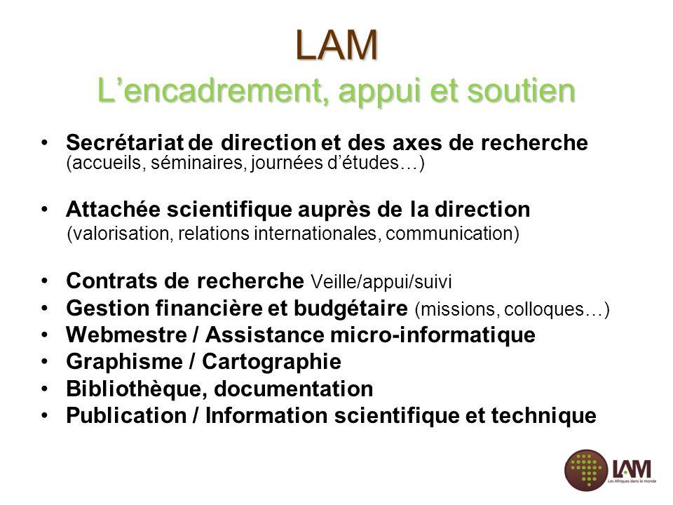 LAM L'encadrement, appui et soutien