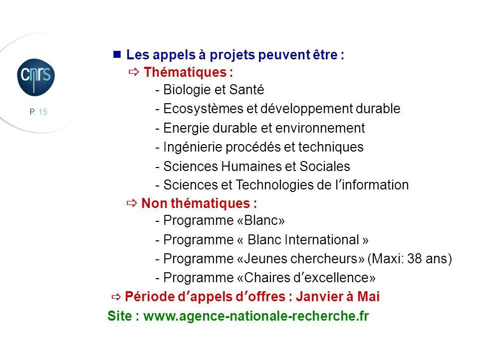  Thématiques : - Biologie et Santé