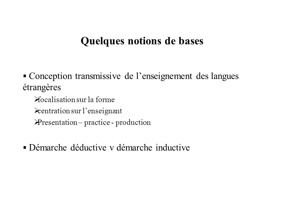 perspective logico-deductive et perspective behavioriste