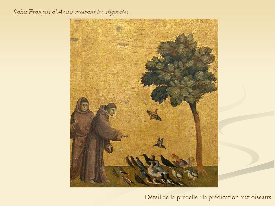 Saint François d'Assise recevant les stigmates.