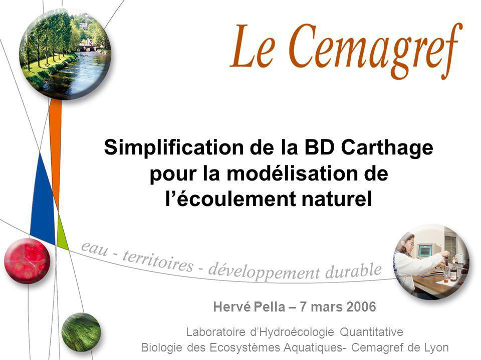 Simplification de la BD Carthage
