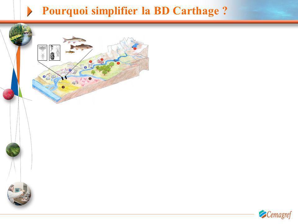 Pourquoi simplifier la BD Carthage