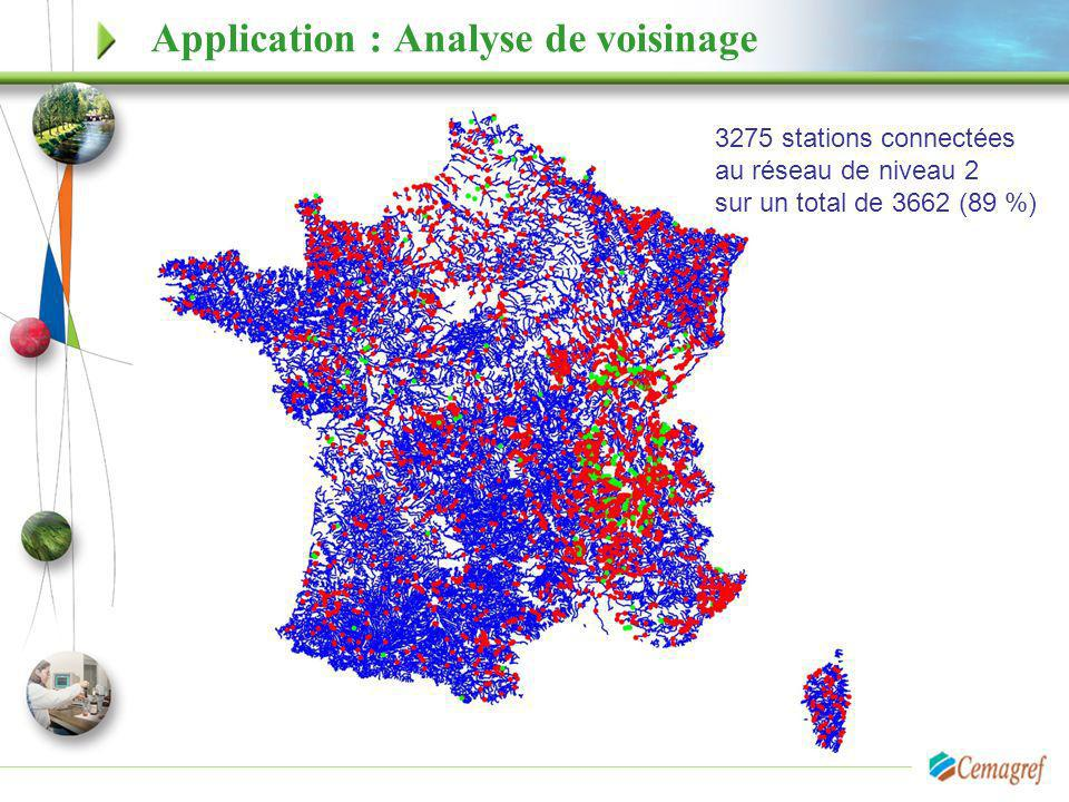 Application : Analyse de voisinage