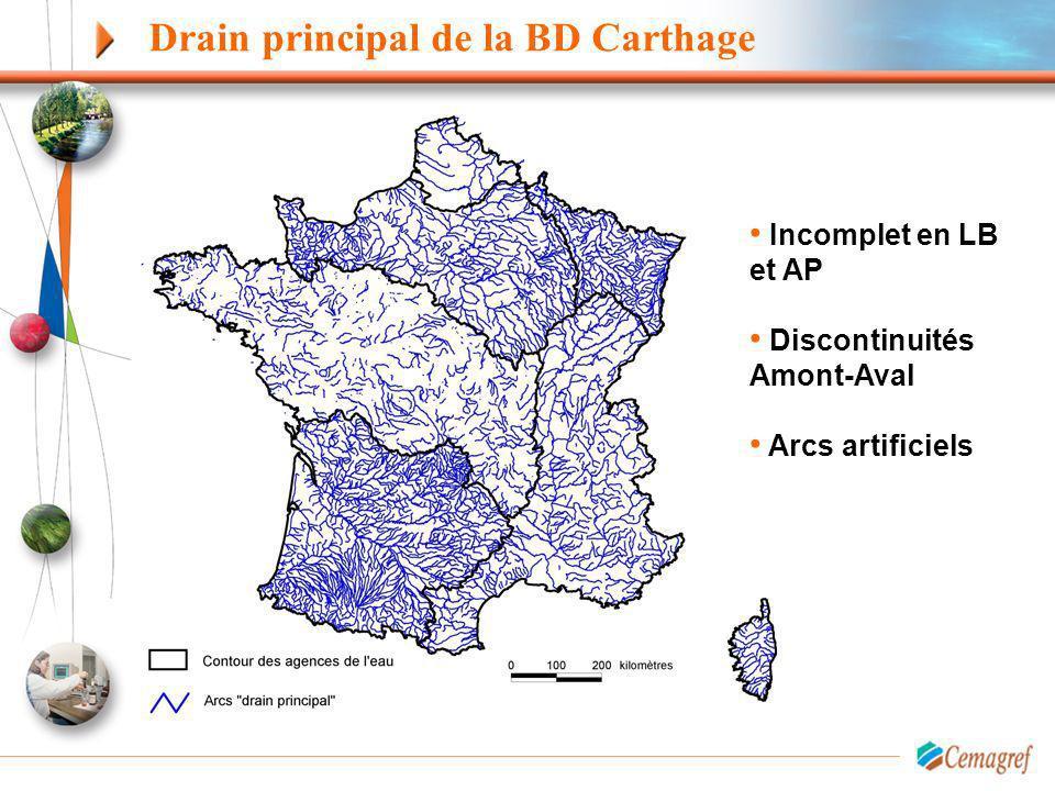 Drain principal de la BD Carthage