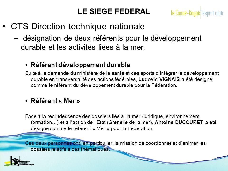 CTS Direction technique nationale