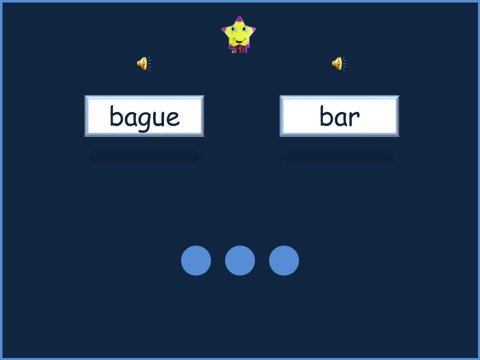 bague bar