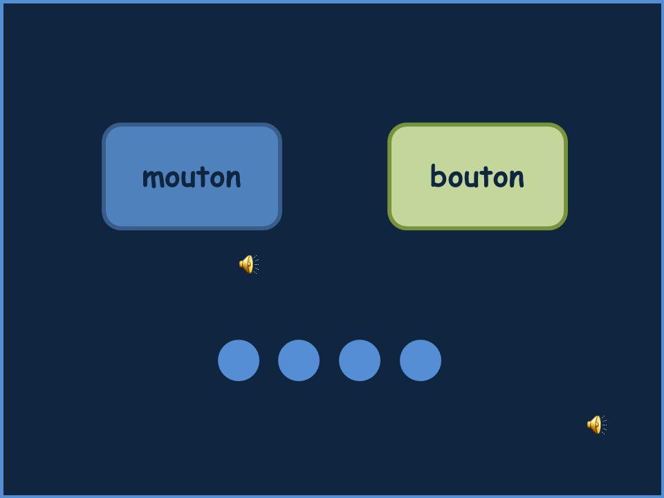 mouton bouton