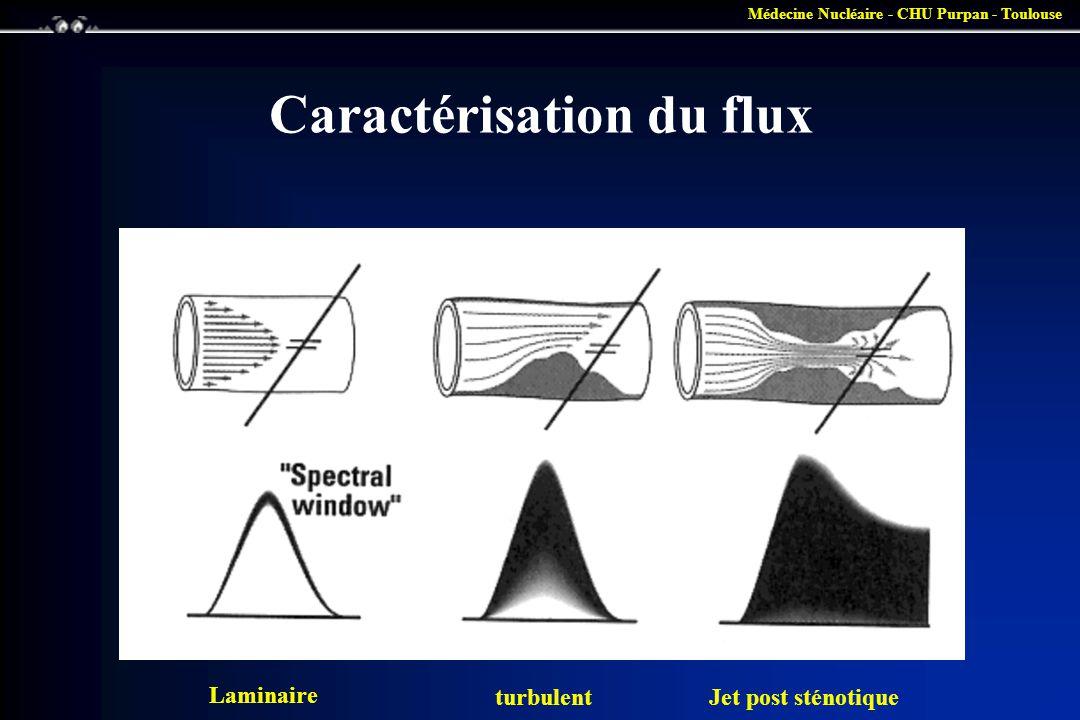 Caractérisation du flux